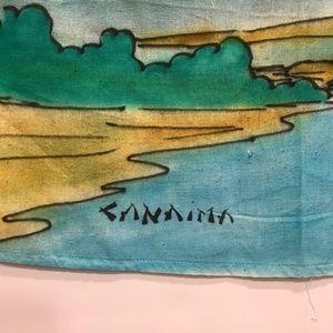 Hawaiian Print Sarong